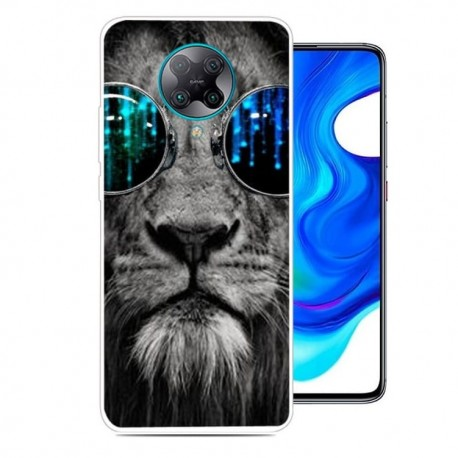 Coque Xiaomi Pocophone F2 Pro Lion Hypster TPU