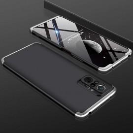 Coque 360 Xiaomi Redmi Note 10 PRO Noire et Argent