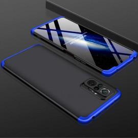 Coque 360 Xiaomi Redmi Note 10 PRO Noire et Bleue