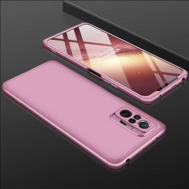 Coque 360 Xiaomi Redmi Note 10 PRO Or Rose