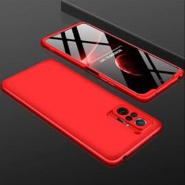 Coque 360 Xiaomi Redmi Note 10 PRO Rouge