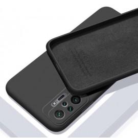Coque Silicone Redmi Note 10 Pro Soyeuse Noire