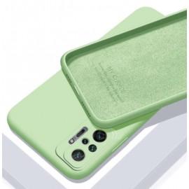 Coque Silicone Redmi Note 10 Pro Soyeuse Verte