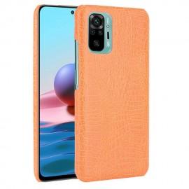 Coque Xiaomi Redmi Note 10 Pro Orange Croc
