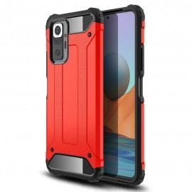 Coque Xiaomi Redmi Note 10 PRO Armure Rouge