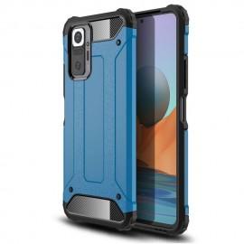 Coque Xiaomi Redmi Note 10 PRO Armure Bleue