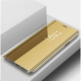 Etuis Xiaomi Redmi Note 10 Pro Miroir Doré