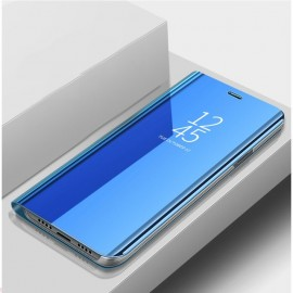 Etuis Xiaomi Redmi Note 10 Pro Miroir Bleu