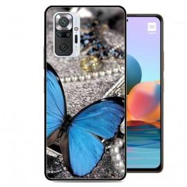 Coque TPU Xiaomi Redmi Note 10 Pro Papillon