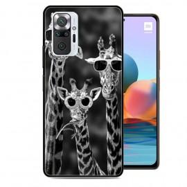 Coque TPU Xiaomi Redmi Note 10 Pro Girafes