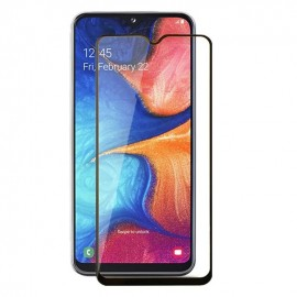 Verre Trempé Samsung Galaxy A22 bords a bords noir