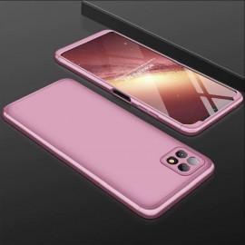 Coque 360 Samsung Galaxy A22 Rose Premium