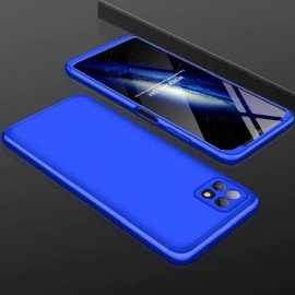 Coque 360 Samsung Galaxy A22 Bleue Premium