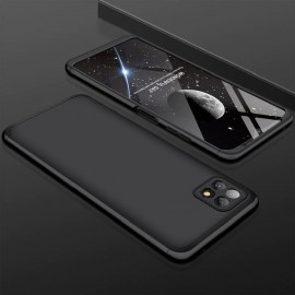 Coque 360 Samsung Galaxy A22 Noire Premium