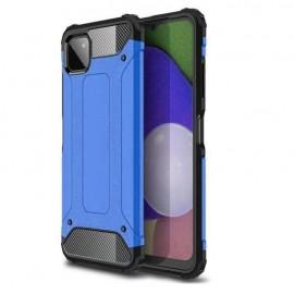 Coque Samsung Galaxy A22 antichoc Bleue