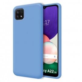 Coque Soyeuse Samsung Galaxy A22 Bleu ciel