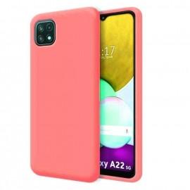 Coque Soyeuse Samsung Galaxy A22 Rouge