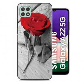 Coque Samsung Galaxy A22 Rose