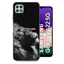 Coque Samsung Galaxy A22 imprimée Lion