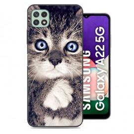 Coque Samsung Galaxy A22 imprimée Chaton