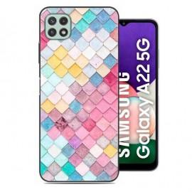 Coque Samsung Galaxy A22 imprimée Pastel