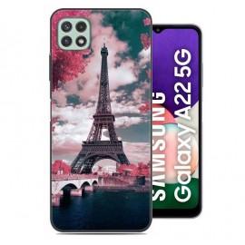 Coque Samsung Galaxy A22 imprimée Paris
