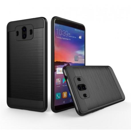 Coque Huawei Mate 10 Hybride Dual Noir