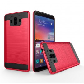 Coque Huawei Mate 10 Hybride Dual Rouge