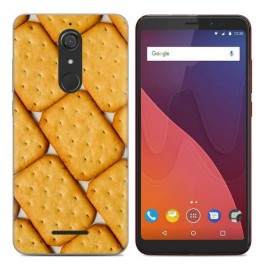 Coque Silicone Wiko View Biscuit