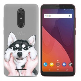 Coque Silicone Wiko View Husky