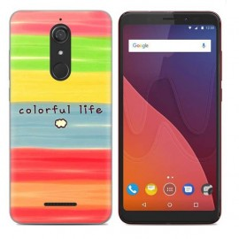 Coque Silicone Wiko View Couleurs