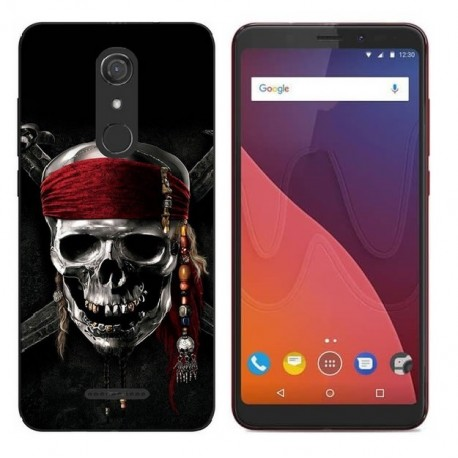 Coque Silicone Wiko View Pirate