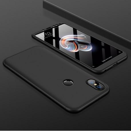 Coque 360 Xiaomi Redmi Note 5 Pro Noir