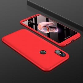 Coque 360 Xiaomi Redmi Note 5 Pro Rouge