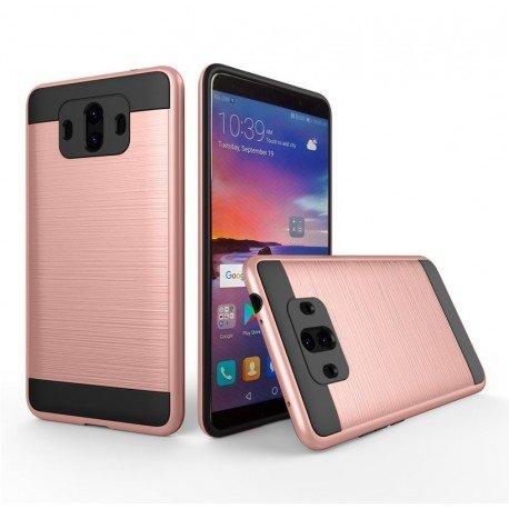 Coque Huawei Mate 10 Hybride Dual Or Rose