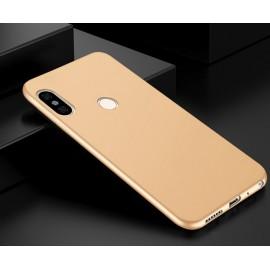 Coque Silicone Xiaomi Redmi Note 5 Pro Extra Fine Or