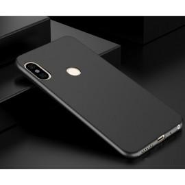 Coque Silicone Xiaomi Redmi Note 5 Pro Extra Fine Noir