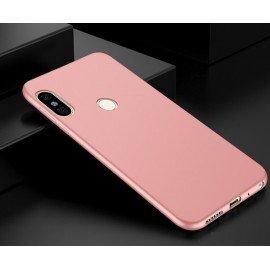 Coque Silicone Xiaomi Redmi Note 5 Pro Extra Fine Rose