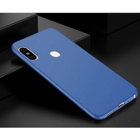 Coque Silicone Xiaomi Redmi Note 5 Pro Extra Fine Bleu