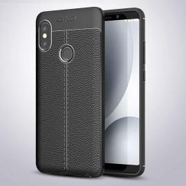 Coque Silicone Xiaomi Redmi Note 5 Pro Cuir 3D