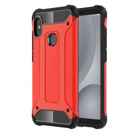 Coque Xiaomi Redmi Note 5 Pro Anti Choques Rouge