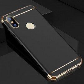 Coque Xiaomi Redmi Note 5 Pro Rigide Chromée Noir