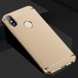 Coque Xiaomi Redmi Note 5 Pro Rigide Chromée Dorée