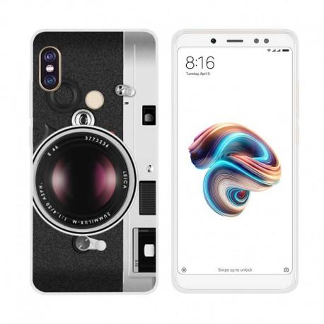 Coque Silicone Xiaomi Redmi Note 5 Pro Camera