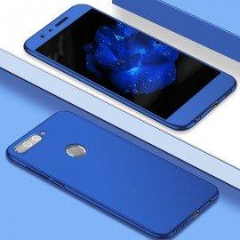 Coque 360 Huawei P Smart Bleu