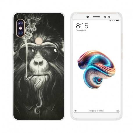 Coque Silicone Xiaomi Redmi Note 5 Pro Singe