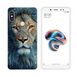 Coque Silicone Xiaomi Redmi Note 5 Pro Lion
