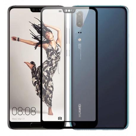 Verre trempé Huawei P20 Protecteur d'écran Noir