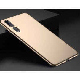 Coque Silicone Huawei P20 Extra Fine Or
