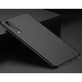 Coque Silicone Huawei P20 Extra Fine Negra